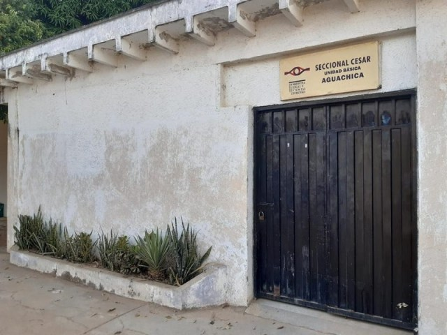 El cuerpo de la víctima fue llevado a la morgue de Aguachica.  FOTO: REFERENCIA.