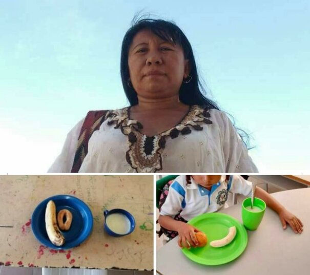 La docente Rosa Redondo durante varios años ha denunciado irregularidades en la entrega del PAE.