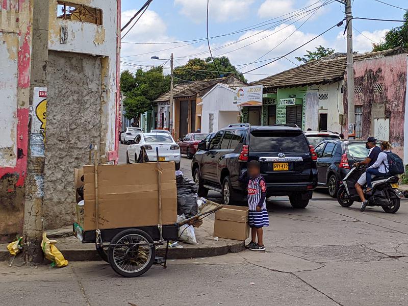El 59,8 % de los hogares cesarenses aseveraron vivir en condiciones de pobreza multidimensional. Foto: Joaquín Ramírez.
