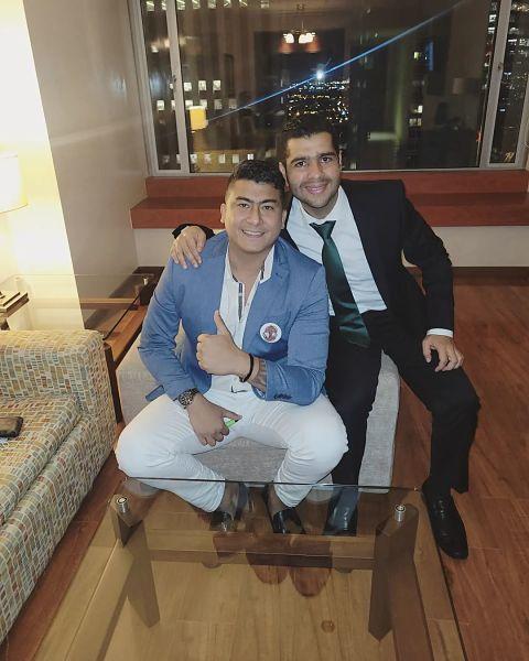Reyes vallenatos Fernando Rangel y Jaime Dangond.    FOTO: Tomada de Instagram.