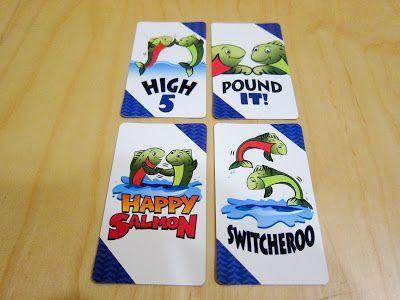 Happy Salmon - juego de cartas