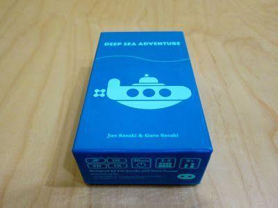 Deep Sea Adventure - juego mesa