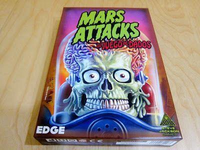Mars Attacks - juego de dados