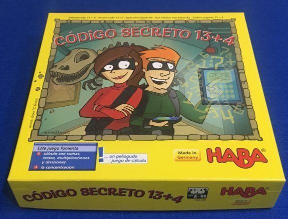 Código Secreto 13+4 de Haba España