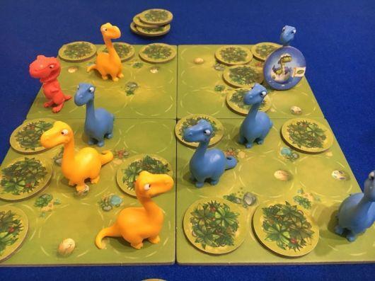 Jurassic Snack - Maldito Games - Desarrollo partida