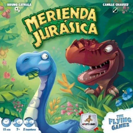Merienda Jurásica - Maldito Games