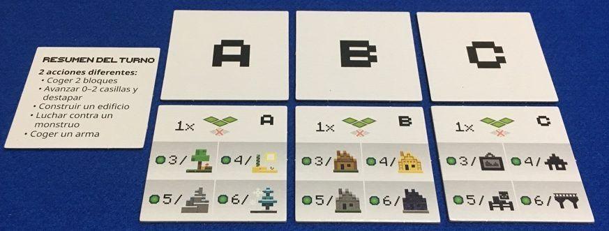 Minecraft - Fichas de puntuación