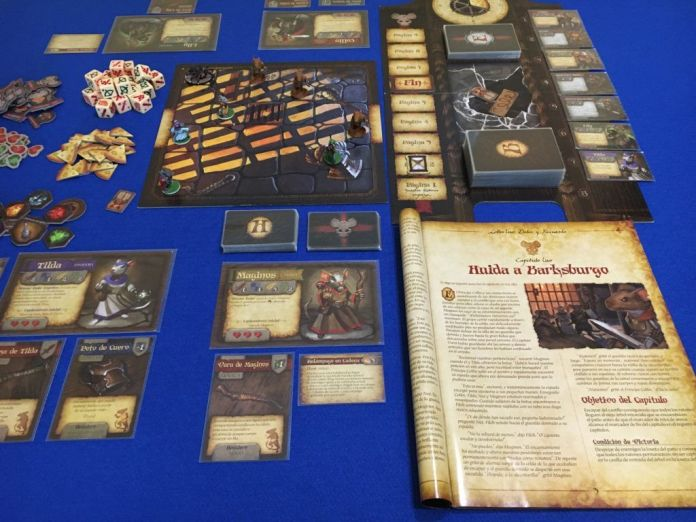 Mice and Mystics - De ratones y magia