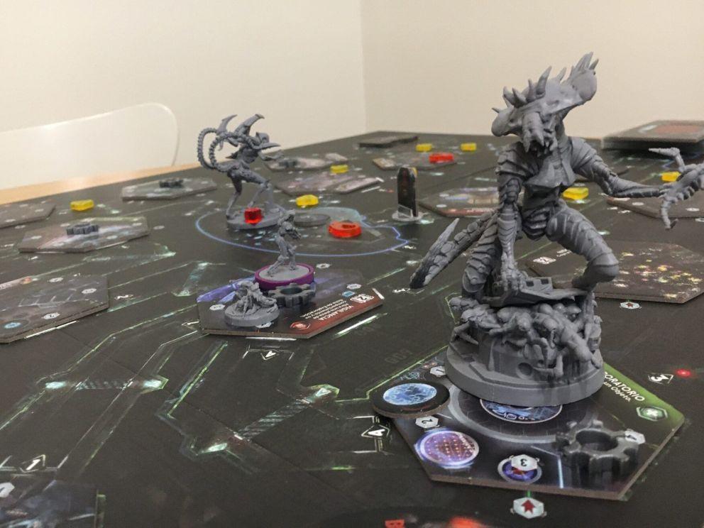 Nemesis juego de mesa
