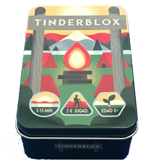 Caja metálica de Tinderblox