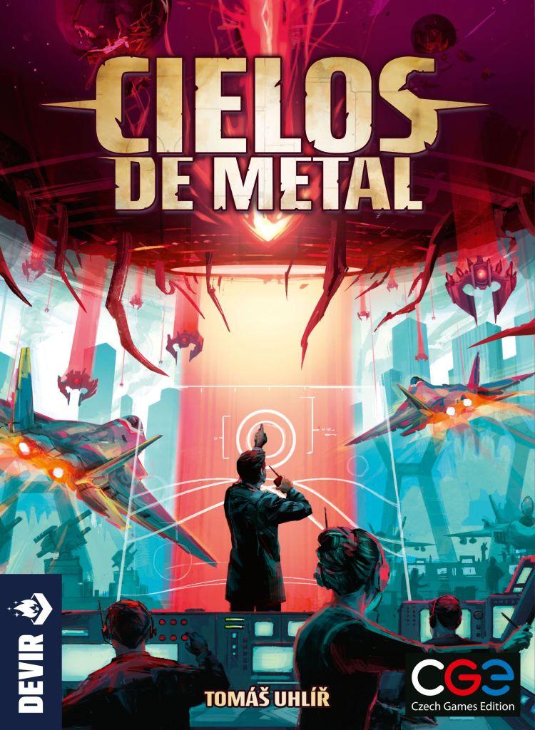 Caja juego cielos de metal