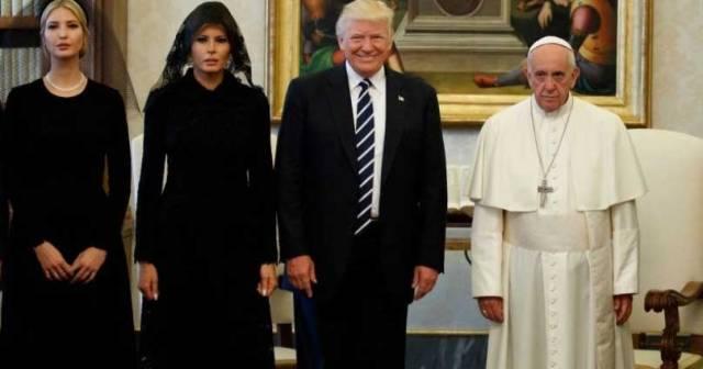 visita donald trump al papa francisco