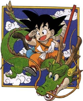 Imagen de la portada del primer tomo de DRAGONBALL