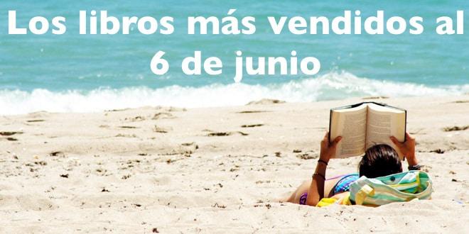 Los libros más vendidos al 6 de junio