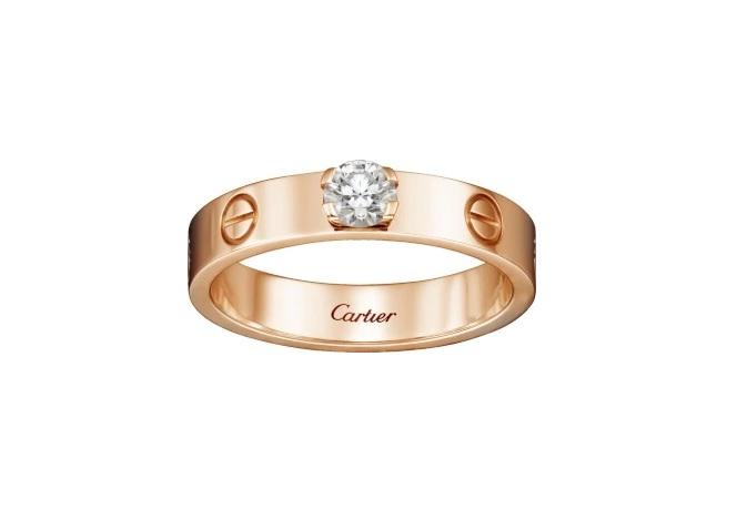 Love Cartier - anillo de pedida