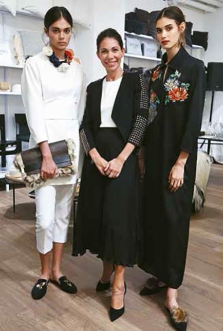 Cher en el pop-up de Estudio Cher de Alcorta Shopping, en el marco de BAF y con el apoyo de HSBC.
