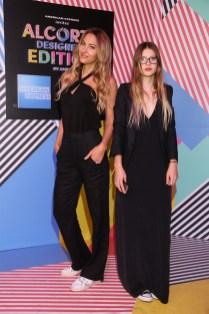 Andrea Bursten junto a su hija Francesca en el Alcorta Designers Edition By Amex