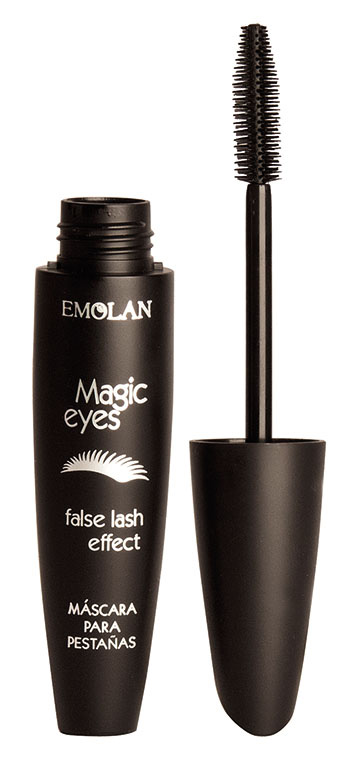 Magic Eyes de Emolan es una máscara de pestañas que resalta la mirada con una terminación delicada y prolija con mayor volumen. $120