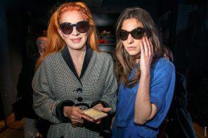 Nacha Guevara y Delfina Mendiberry