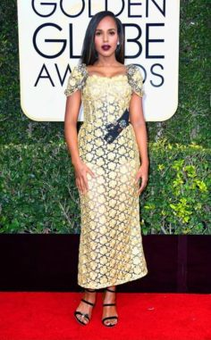 Kerry Washington, por Dolce y Gabbana
