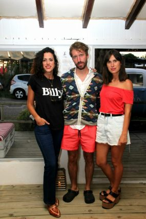 Mariana Rubio Pittaluga, Santiago Galleli y Fiona Pittaluga