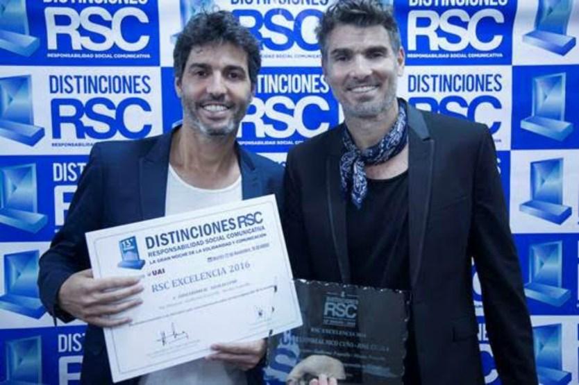 Martín Lief y Nicolás Cuño, dos figuras públicas que se acostumbraron a ser distinguidos