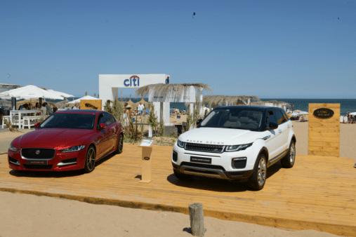 Jaguar y Land Rover, unidos en Punta del Este.