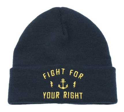 Gorro de lana bordado Lauryn de Casa Fight en Mercado Libre Moda, $375.