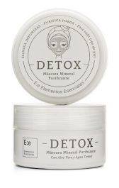 """Máscara Mineral Puri cante """"Detox"""" enriquecida con aloe vera y agua, Elementos Esenciales, $180"""