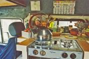 a simpler life el pocito van conversion interior cooker