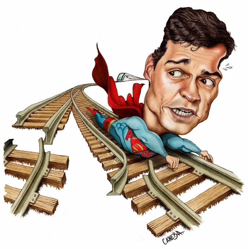 Resultado de imagen para Caricaturas de presidente Sánchez,