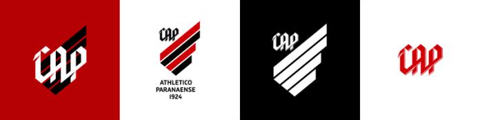 El Atlético Paranaense se sube al carro de la Juventus en su nuevo logotipo.