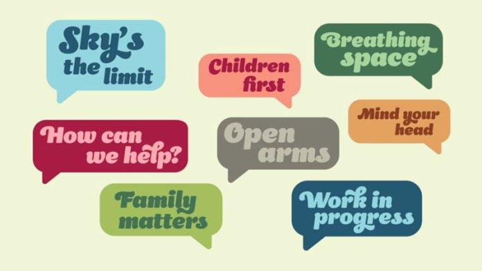 action for children uk: Una identidad más amigable para la ONG.