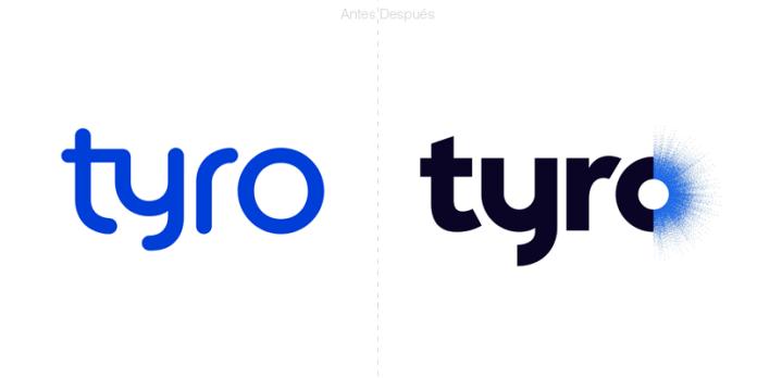 tyro Banks cambia su logotipo por una letra o explosiva