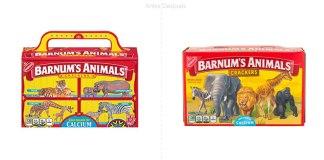 Galletas de animalitos Barnum's Animals