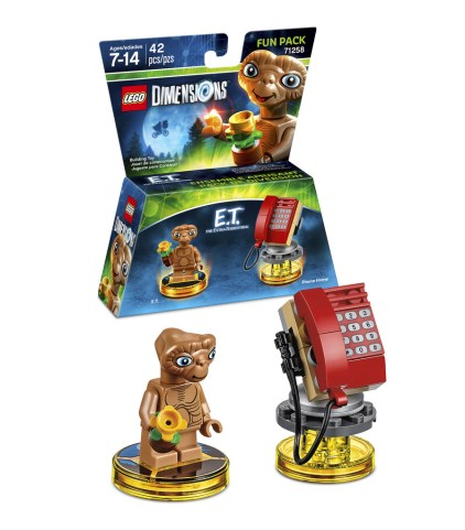 LEGO Dimensions 71258 E.T The Extra-Terrestrial Fun Pack