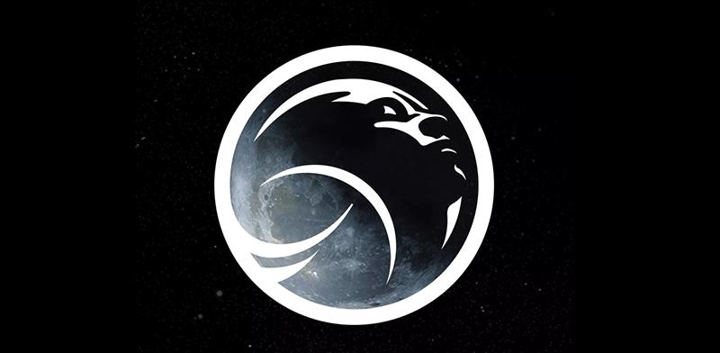 logo de la mujer en la luna