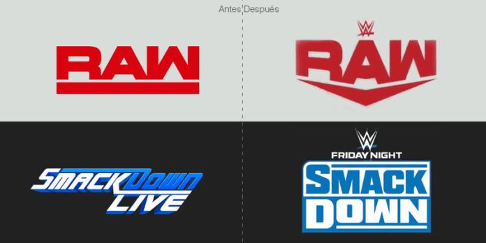 nuevo logo de wee raw y smackdown