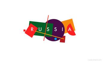 Detalles logotipo de Rusia