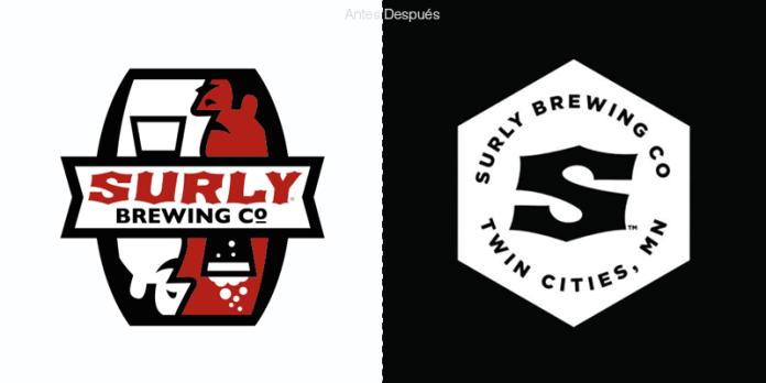 cervecería Surly cambia de logo