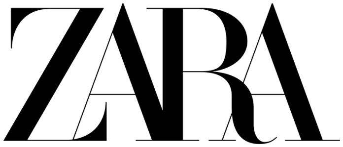 zara muestra su nuevo wordmark: Más unido que nunca.