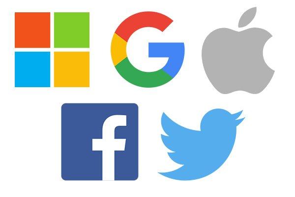 Apple, Google, Microsoft, Facebook y Twitter forman una gran alianza para la transferencia de datos