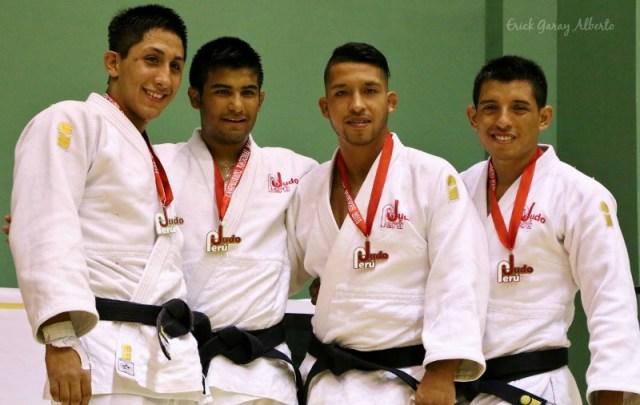 Masculino -73 Kg. 1. Alonso Wong (Guadalupe) 2. Luis Ángeles (Takenori Ito) 3. Daniel Vizcarra (Shinzo) 3. Kengy Vidal (Pre selección)