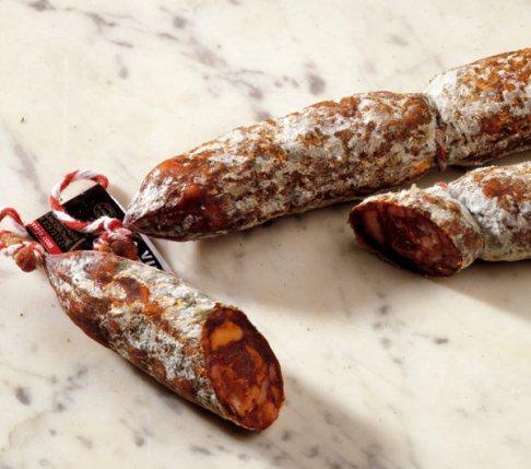 Chorizo de Cantimpalos - 70% de magro y sólo un 26% de tocino