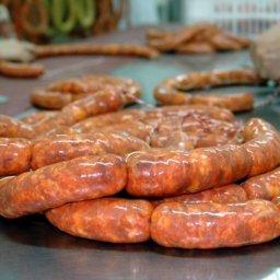 Receta para preparar chorizo de cerdo pampeano