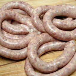 Receta para preparar Chorizo valenciano o cebollero