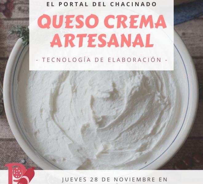 Elaboracion-artesanal-de-queso-crema-Noviembre-El-Portal-del-Chacinado