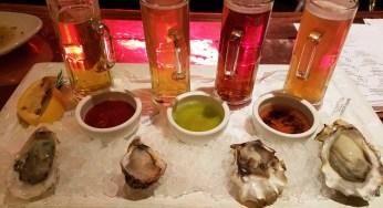 Maridaje de la cerveza y los mariscos