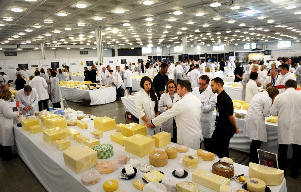 Judging takes place during the World Cheese Awards at the BBC Good Food Show at Olympia West, Hammersmith, London. PRESS ASSOCIATION Photo. Picture date: Friday November 14, 2014. Photo credit: Anthony Devlin/PA Wire