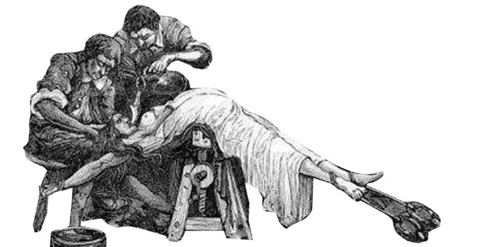 Resultado de imagen para SANTA INQUISICIÓN: TORMENTO DE AGUA